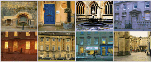 King Bladud's Pigs in Bath website - views of Bath City
